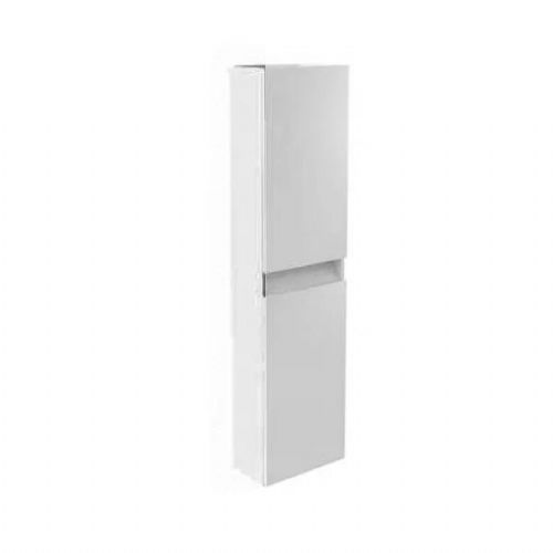 Kartell Ikon Wall Mounted Tall Storage Unit - 1600mm High - White - Left Handed
